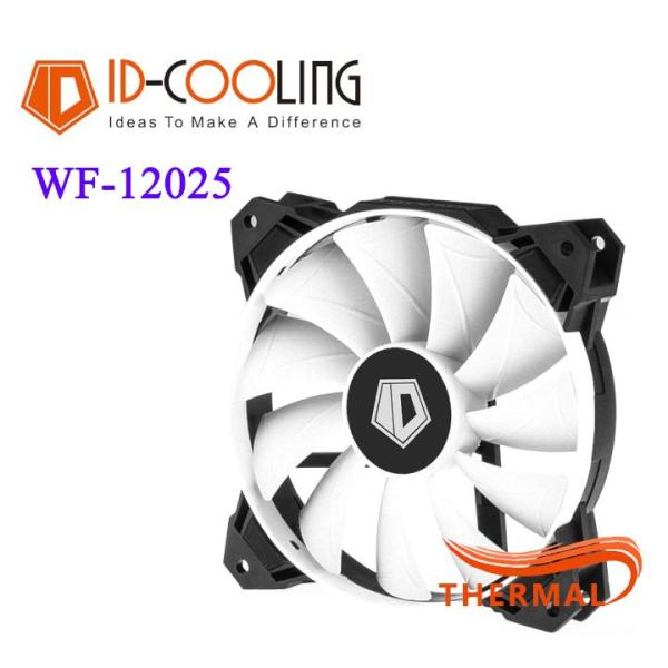 Fan case 12cm ID-Cooling WF-12025 [ThermalVN] - Sức gió lớn, Tuổi thọ sản phẩm cao