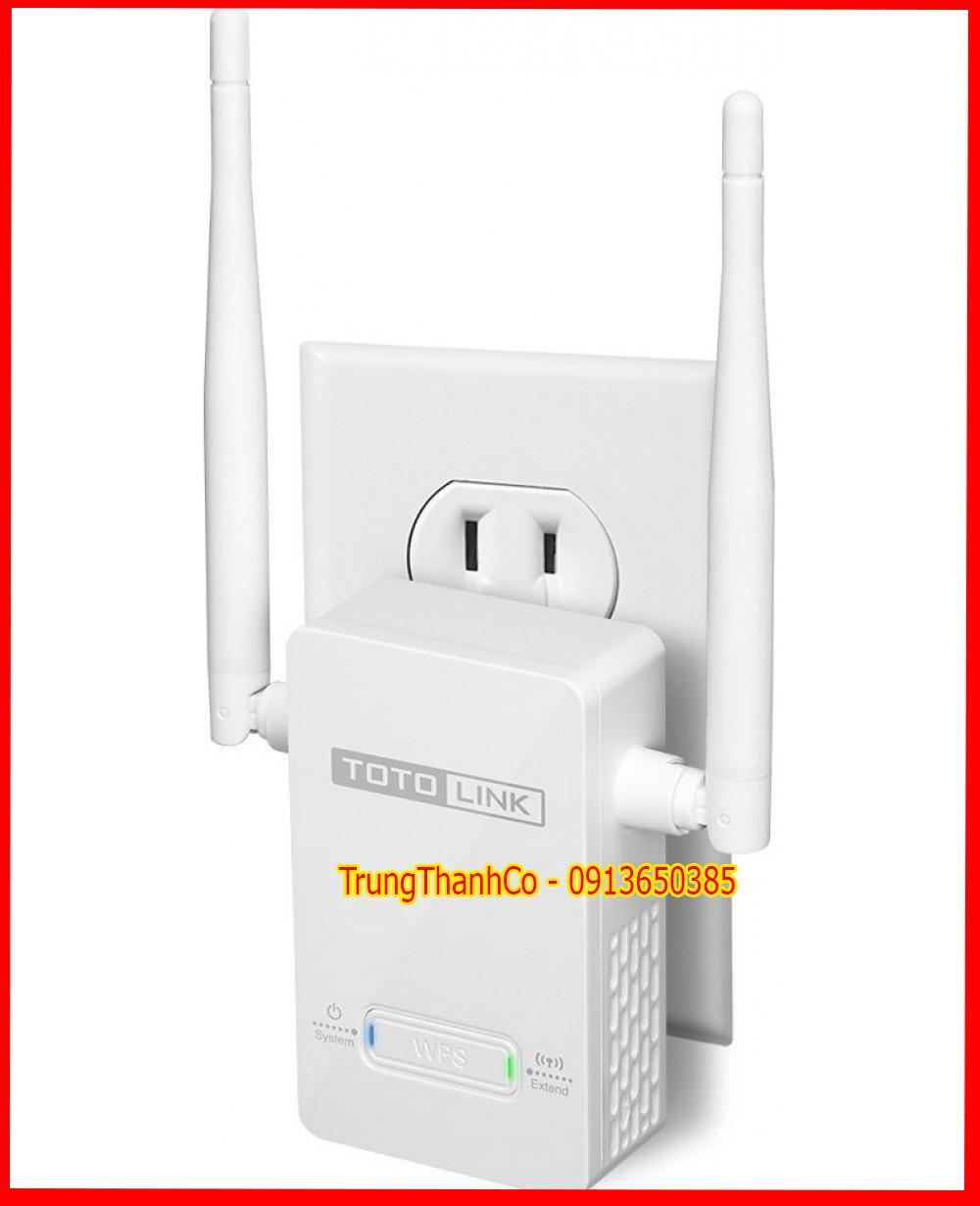 Giá (F) Repeater Kích Sóng Wifi ToToLink EX200 300Mbps