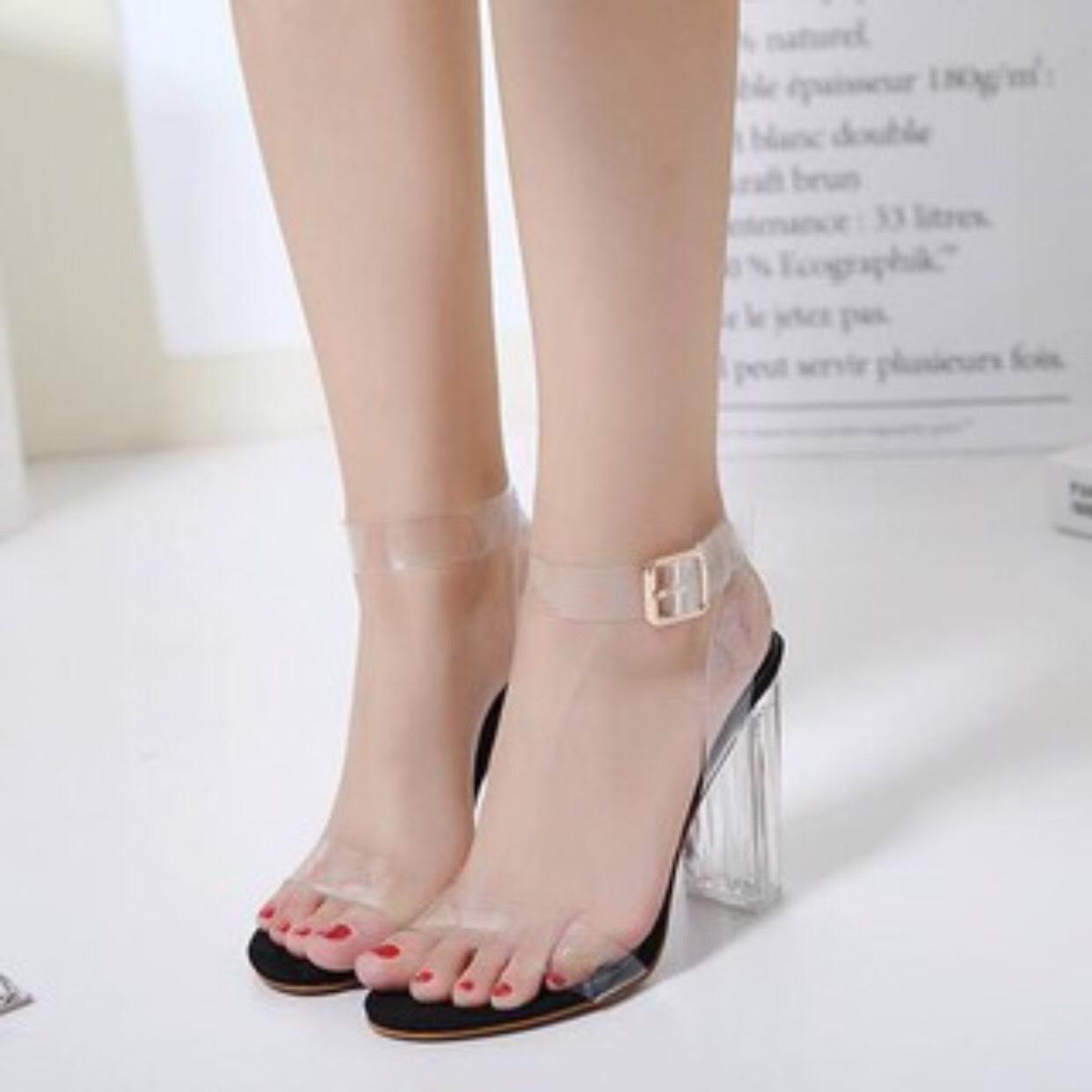 Giày cao gót 9 phân quai trong dây quấn LT