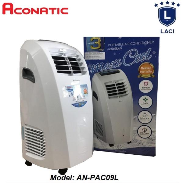Máy lạnh di động Aconatic 9000 BTU Nhập khẩu ThaiLand