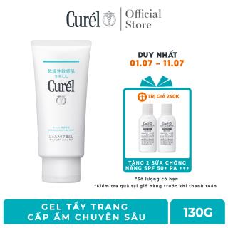 [Voucher 50K cho đơn hàng 699K] Gel Tẩy Trang Cấp Ẩm Chuyên Sâu Curel Intensive Moisture Care Makeup Cleansing Gel 130g thumbnail