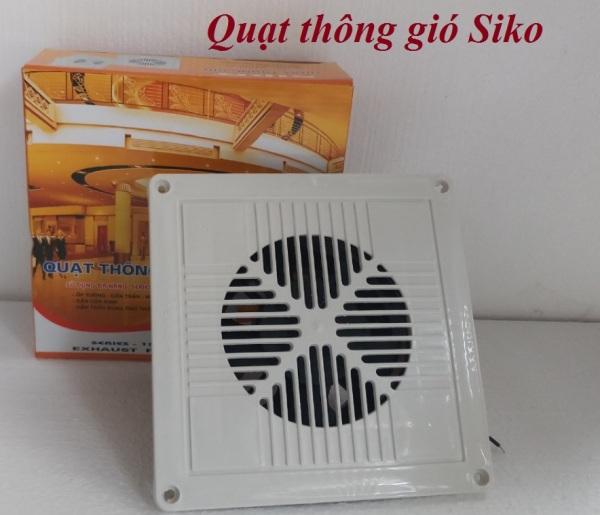 Quạt hút thông gió âm trần Siko 20cmx20cm 25W