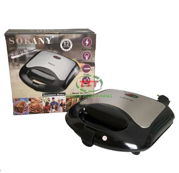 Máy nướng bánh bông lan Hotdog SOKANY KJ-105 Bảo hành 12 tháng