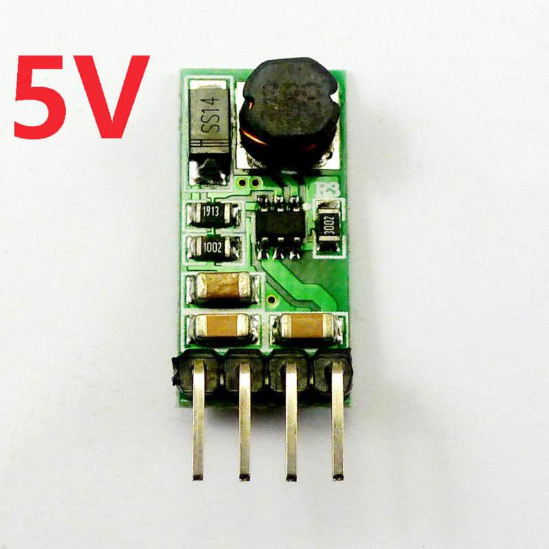 Bảng giá 3V 3.3V 3.7V 4.5V to 5V DC DC Converter Step-Up Boost Current Mode PWM Voltage Transformation Module Phong Vũ