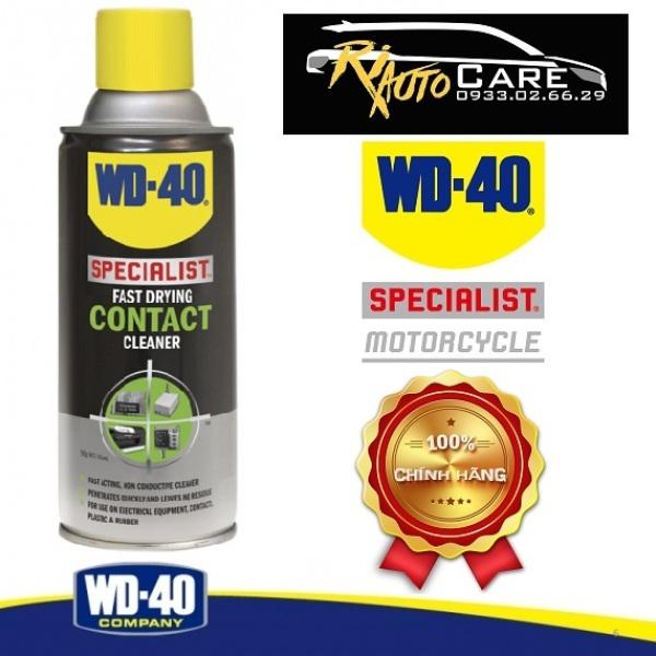Chai xịt làm sạch bề mặt, khô nhanh WD-40 Fast Drying Contact Cleaner 360ml