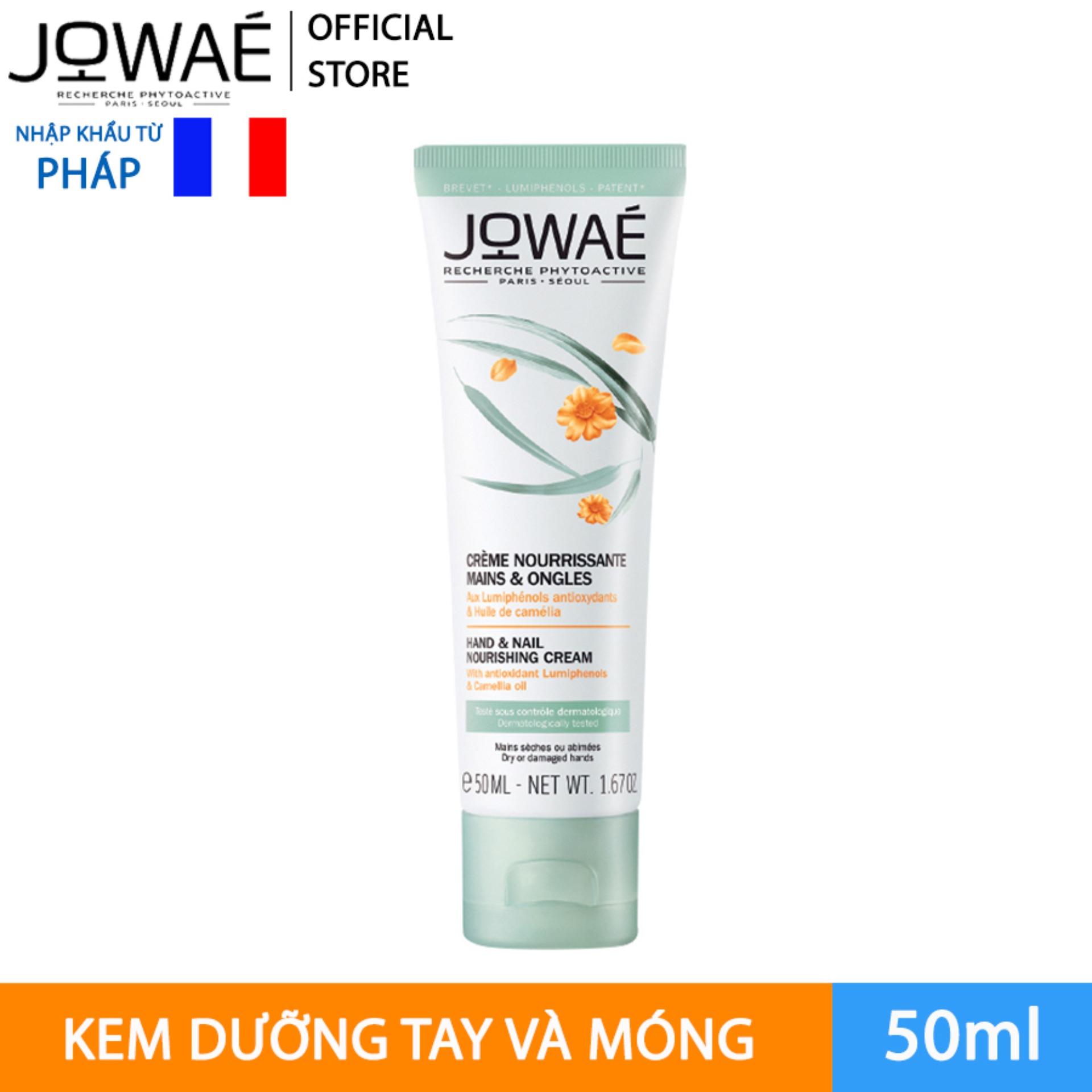 Kem dưỡng tay và móng JOWAE mỹ phẩm thiên nhiên nhập khẩu từ Pháp  HAND AND NAIL NOURISHING CREAM cao cấp