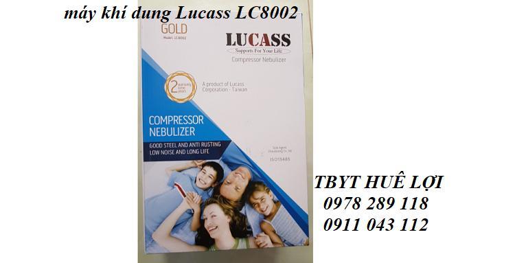 Máy xông khí dung Lucass LC 8002