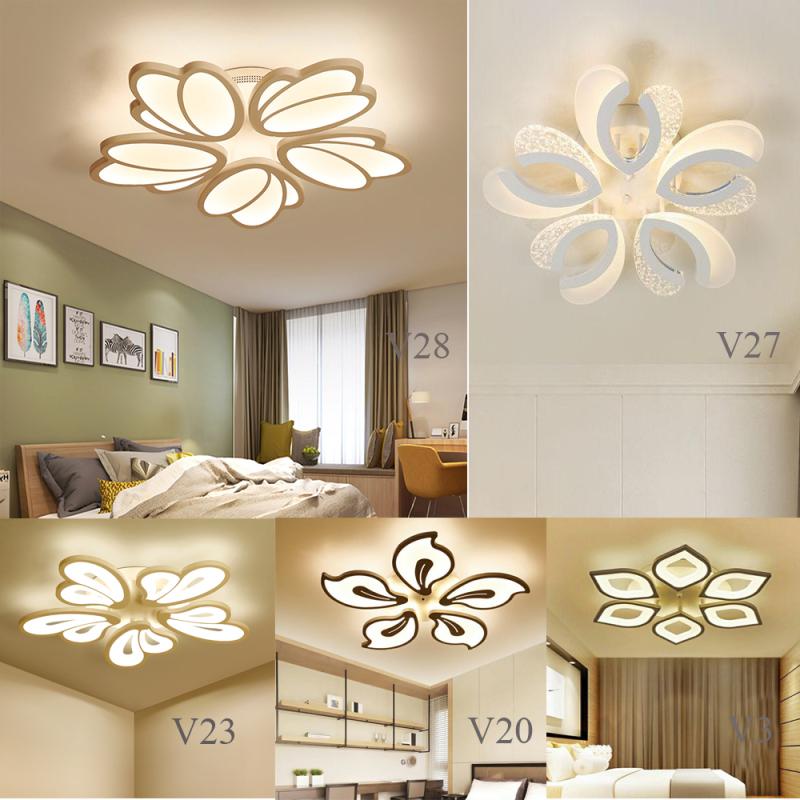 Đèn led ốp trần trang trí - đèn trần trang trí hiện đại 3 chế độ ánh sáng có điều khiển từ xa