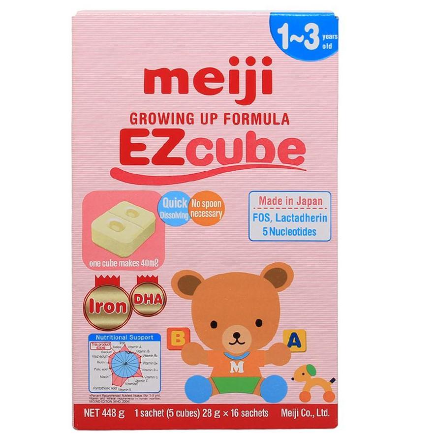 Sữa Meiji Số 9 (1-3 tuổi) Growing Up Formula EZcube...