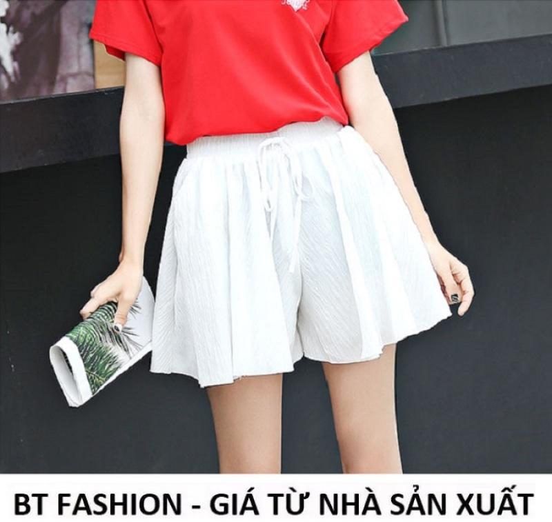 Quần Sọt Đùi Nữ Voan Giả Váy Thời Trang  - BT Fashion (VA02-VOAN)