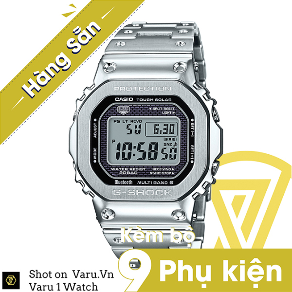 [Cao Cấp] Đồng hồ thể thao nam nữ G-Shock GMW-B5000D-1 Full phụ kiện bán chạy