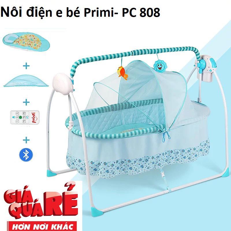 Nôi điện e bé Primi- PC 808-Kiểu dáng đẹp sang...
