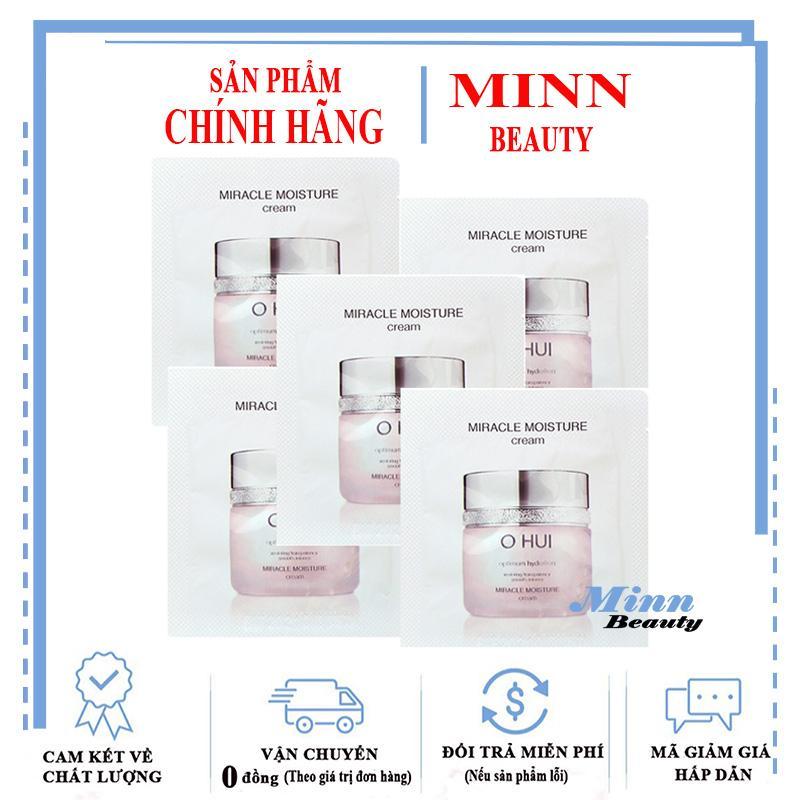 Combo 5 Kem Dưỡng Ẩm Dành Cho Da Khô Ohui Miracle Moisture Cream 1mlx5 nhập khẩu