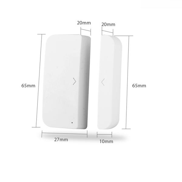 Giá Cảm Biến Báo Động Cửa - Cửa Sổ Wifi Thông Minh Tuya Smartlife - Ứng Dụng Điều Khiển Tương Thích Amazon Alexa Google Assistant IFTTT