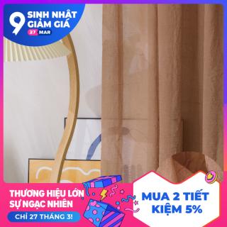 NAPEARL Rắn Màu Rèm Thiết kế MỚI Thiết kế cổ điển Rèm cửa sổ vải tuyn cho Phòng khách không khí nghệ thuật 1PCS thumbnail