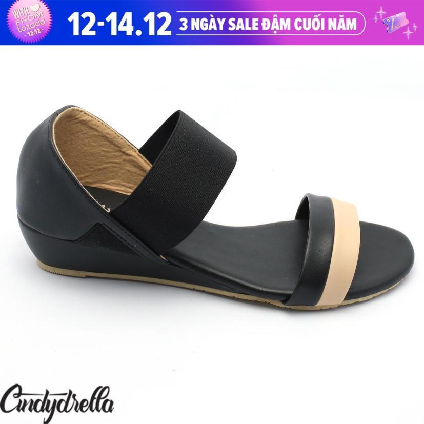 Sandal Thun 2 màu nữ cao gót Cindydrella P03 giá rẻ