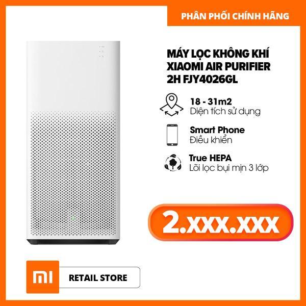 Bảng giá Máy lọc không khí Xiaomi Air Purifier 2H FJY4026GL- Hàng phân phối chính hãng