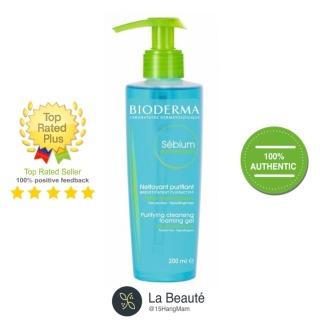 Gel rửa mặt tạo bọt - Bioderma Sébium Gel Moussant (200ml 500ml) thumbnail