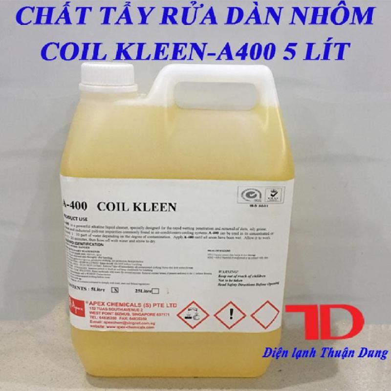 Chất tẩy rửa dàn nhôm COIL KLEEN A400 5 lít