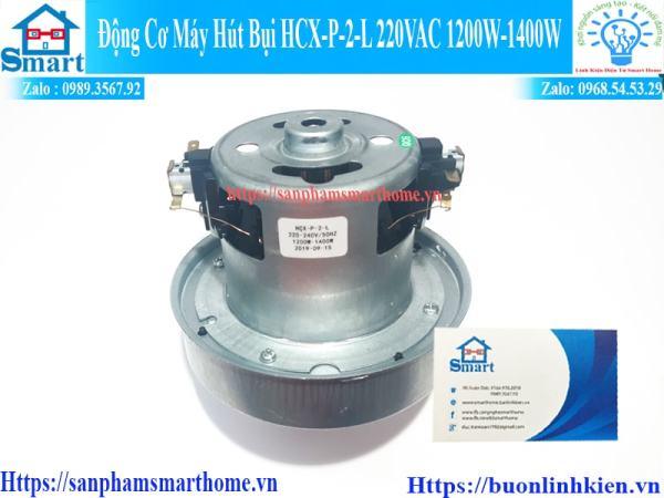Motor động cơ máy hút bụi lắp cho máy công suất 1200w đến 1400w 220V - Đường kính bầu gió 10cm
