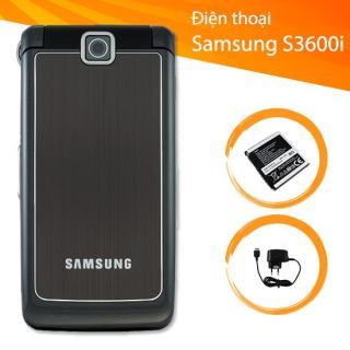 Điện thoại Samsung S3600i Chính Hãng - Máy Bật Nắp - Kèm Pin Sạc Xịn thumbnail