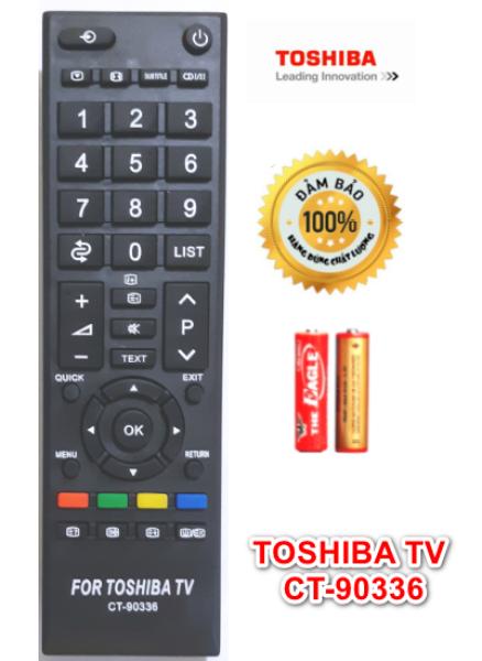 Bảng giá Điều khiển, remote Tivi Toshiba CT-90336 mới 100%