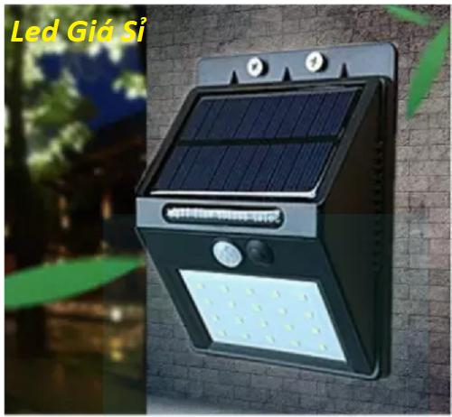 Đèn cảm biến hồng ngoại sử dụng năng lượng mặt trời Solar - 20 Led