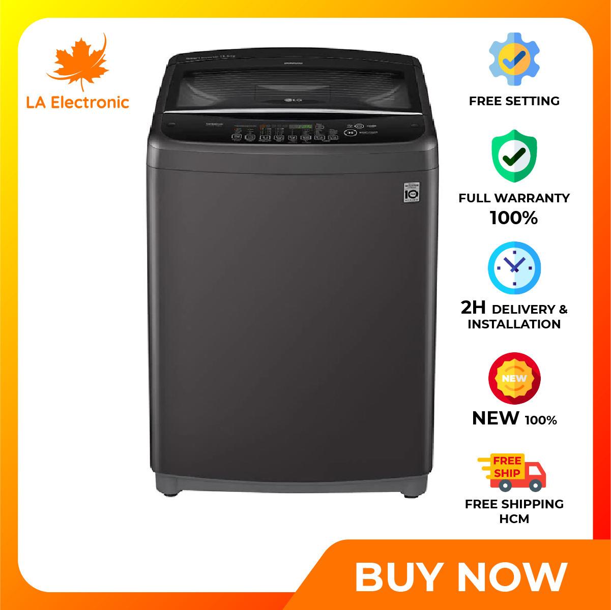 [GIAO HÀNG 2 - 15 NGÀY, TRỄ NHẤT 15.08] Trả Góp 0% - Máy giặt LG Inverter 11.5 kg T2351VSAB - Miễn phí vận chuyển HCM