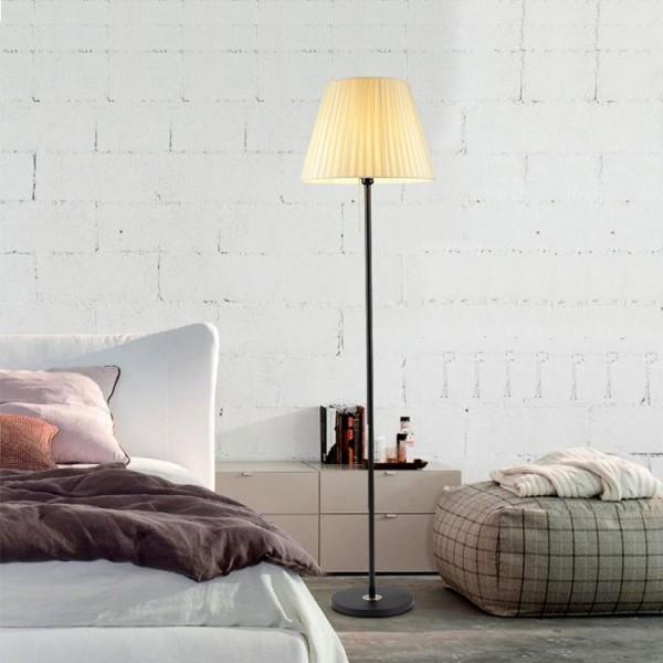 Bảng giá Đèn cây đứng trang trí nội thất phòng khách, phòng ngủ phong cách Châu Âu, đèn LED  6W và có điều khiển từ xa
