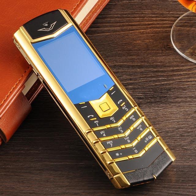 Điện thoại độc vertu k7 giá rẻ có 2 sim siêu nhỏ