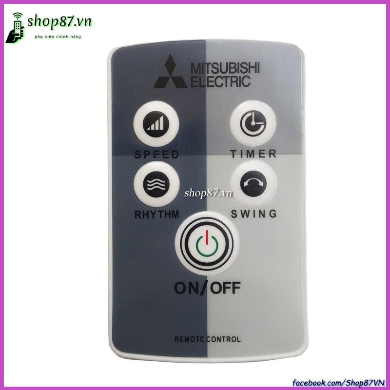 Remote điều khiển quạt Mitsubishi chính hãng