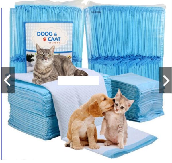 Miếng lót cho chó đi vệ sinh, tã giấy khay, lồng chuồng thú cưng, mèo siêu thấm hút