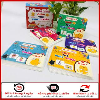 bộ thẻ học thông minh, bộ thẻ 300 câu hỏi-trả lời giúp bé phát triển ngôn ngữ và giao tiếp thumbnail