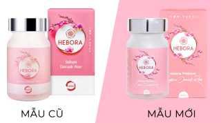 Viên Uống Tỏa Hương Hebora Premium Sakura Damask Rose Mẫu Mới thumbnail