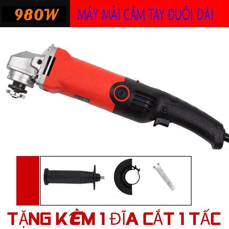 máy cắt mài góc 980w máy mài cầm tay đuôi dài AVE máy cắt cầm tay đuôi dài nâng cao sự an toàn