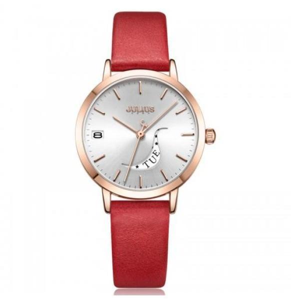 Đồng hồ Nữ Julius JA-1076 có lịch thứ và ngày