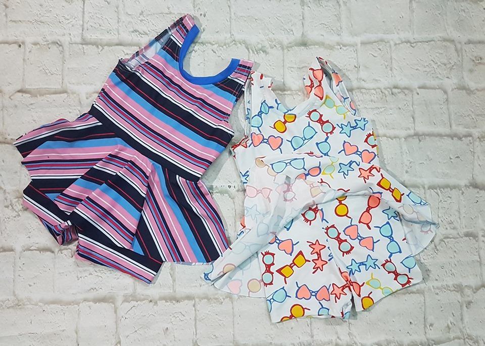 Giá bán đồ bơi bé gái 10-45kg(1 áo)