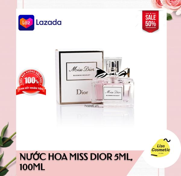 Nước Hoa Nữ Miss Dior Absolutely Blooming_Trẻ Trung_Ngọt Ngào_Quyến Rũ nhập khẩu