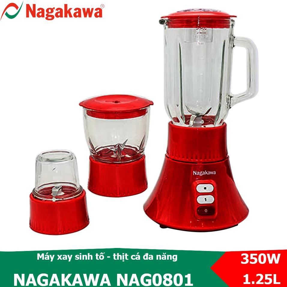 Lazada Giảm Giá Khi Mua Máy Xay Sinh Tố, Xay Thực Phẩm đa Năng 3 Trong 1, 350W Nagakawa NAG0801
