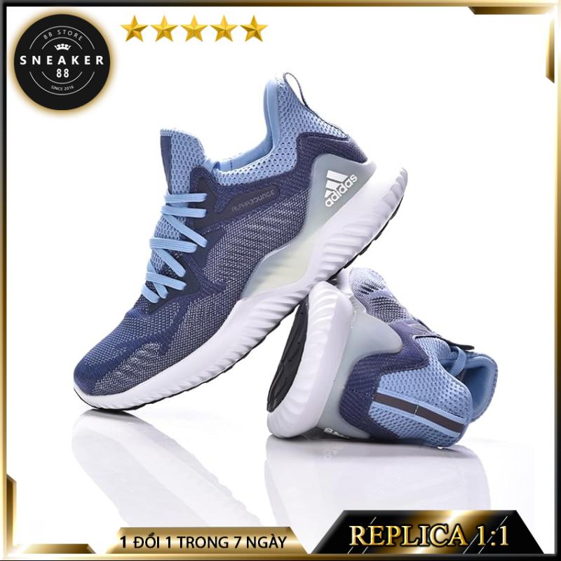 Giày sneaker Alpha Bounce Xanh Ngọc thể thao nam nữ