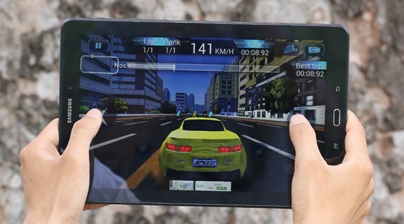 Samsung Galaxy Tab A6 10.1, wifi tặng 2 phần mềm bản quyền tienganh123, luyenthi123, đế dựng