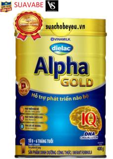 Sữa bột Dielac Alpha Gold 1 400g thumbnail