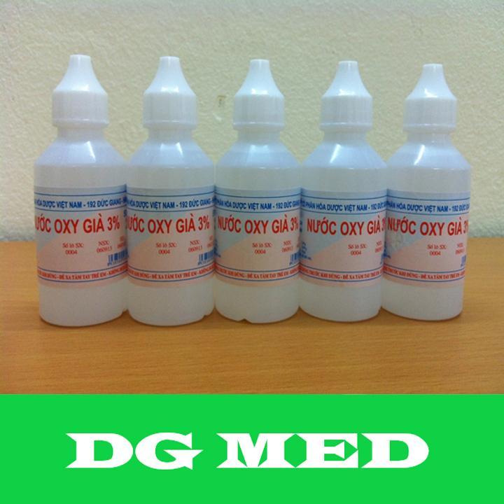 Bộ 10 lọ Oxy già 3% 50ml cao cấp