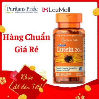 Viên uống bổ sung lutein giúp sáng mắt, ( HSD30 07 2021) cải thiện thị lực Puritan s Pride Lutigold Lutein 20mg 120 viên thumbnail