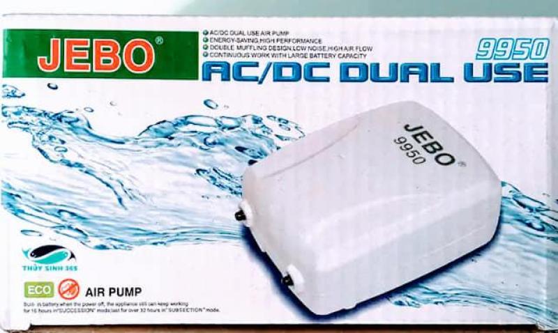 Máy Sủi Oxy Tích Điện JEBO 9950