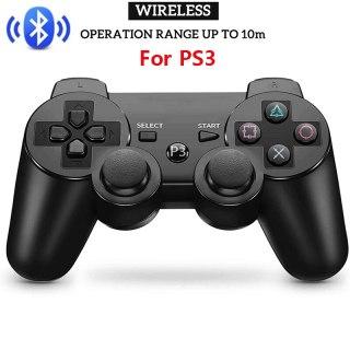 Bàn di chuột Bluetooth không dây dành cho máy chơi game điều khiển PS3 Điều khiển từ xa Cần điều khiển cho máy chơi game Playstation 3 Chống sốc kép thumbnail