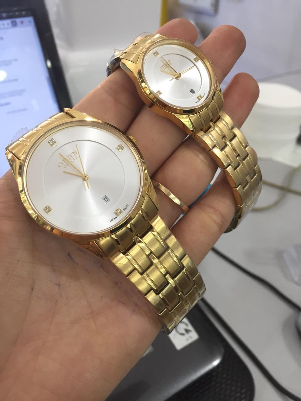 Nơi bán Đồng Hồ  Nam  Gold Platinum kính saphia
