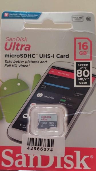 thẻ nhớ sandisk 16GB