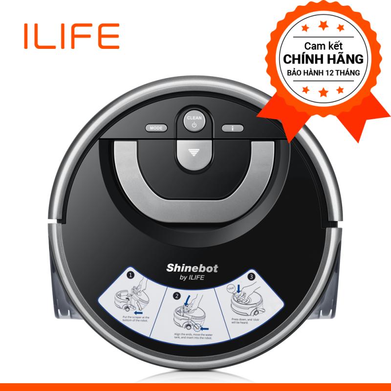 Robot Lau Nhà Chà Sàn chuyên dụng ILife Shinebot W400