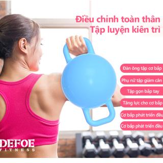 0.5-5.5kg Tạ tay tạ tập gym tạ tập yoga hình tròn tạ nước đổ nước vào tùy chỉnh trọng lượng tạ nam tạ nữ hai màu hồng và xanh lam tạ tập tay tại nhà Keep Going Max thumbnail